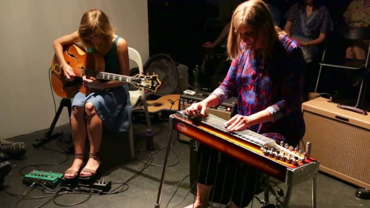Video susan alcorn & mary halvorson – at the stone, nyc – august 7 ...