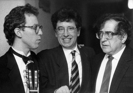 Eliot Fisk Luciano Berio e Arnaldo Volani