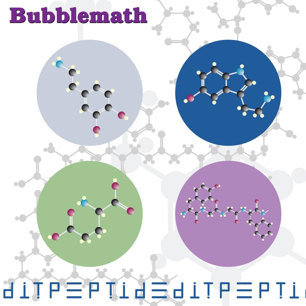 Bubblemath - Edit Peptide - cover_art-Bubblemath-Edit_Peptide