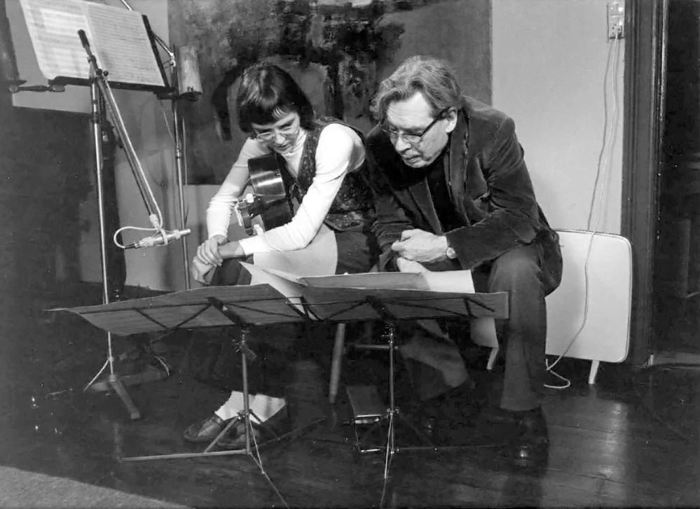 Maria Kämmerling og Gunnar Berg