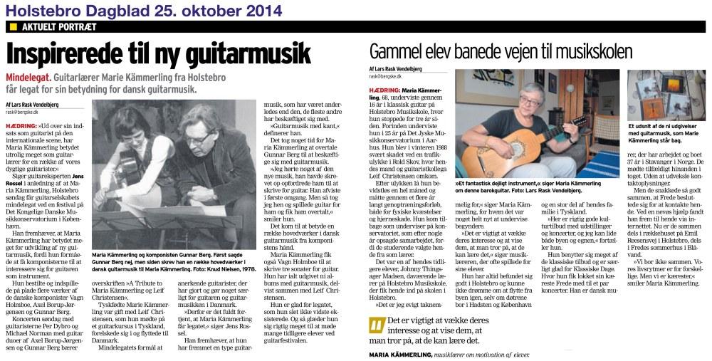 MariaKämmerling-HolstebroDagblad-20141025