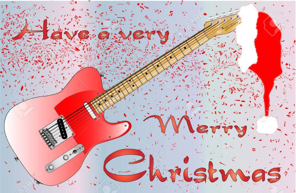 24167610-a-rock-guitar-christmas-card-with-merry-christmas-text-message